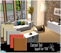 Sims 2 — Carpet Set by ayyuff — cost:2