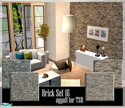 Sims 2 — Brick Set 16 by ayyuff — cost:2