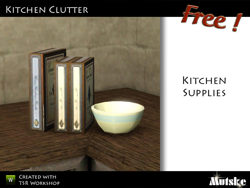 Mutske 39 S Kitchen Supplies