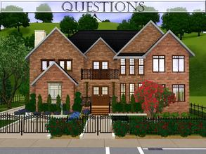 Sims 3 — Questions by lilliebou — Here are some details about this house: First floor: -Fitness room -Bathroom + Laundry
