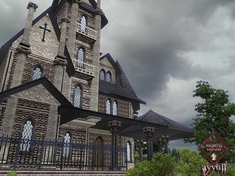 Sims 2 - Haunted House - YouTube