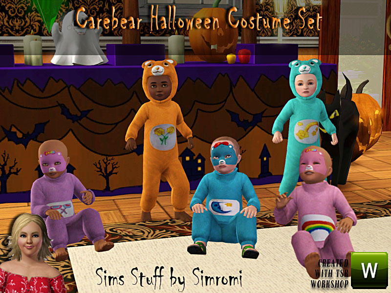 simromi\'s Care Bear Halloween Costume Set for Toddlers
