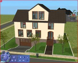 Sims 2 — 22 Caitlin Fischer Lane by Anakin_Stupaine — This is a good size house on a 2x2 piece of land. 3 bedrooms with