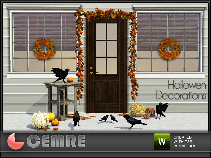 Halloween Decorations by Cemre