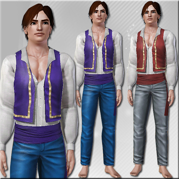 Halloween Gypsy Outfit For Men
