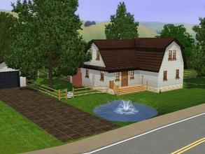 Sims 3 — 63 Farmers Way by charmedtink — This little farmers house is perfect for that green thumb couple who just want