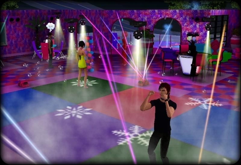 how to make a dance club in the sims 3