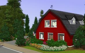Sims 3 — The Bordeaux Barn by Anakin_Stupaine — A converted 3 bed, 2 bath barn with modern interior, parking space for 2