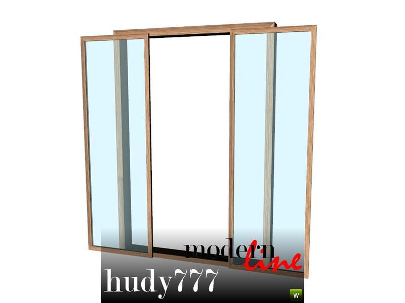 Hudy777 Design S Modern Line Doors Set