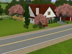 Sims 3 — Little home in the village by charmedtink — this little home packs a punch. Included is 2 bedrooms, 2 bathrooms,