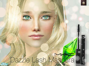 Sims 2 — Mac - Dazzle Lash Mascara by haiduong — A very nice mascara that will make your sim\'s eyes look fabulous.