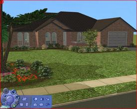 Sims 2 — 42 Nicholas Parker Street by Anakin_Stupaine — Cozy Family home capable of holding 8 persons. Inspired by a