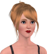 Sims 3 — Ericka Falles by Danielrocxs — The Late Night Magezine will continue! Here are one of the OFFICIAL models.