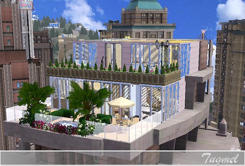 Tugmel S Duplex Penthouse 01 Full Furnished