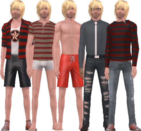 Kurt Cobain Di Game The Sims Distorsi Kasar