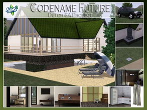 Sims 3 — ** FREE** Codename Future, Dutch EA Project by Angela — Today i bring you my part of the objects we've created