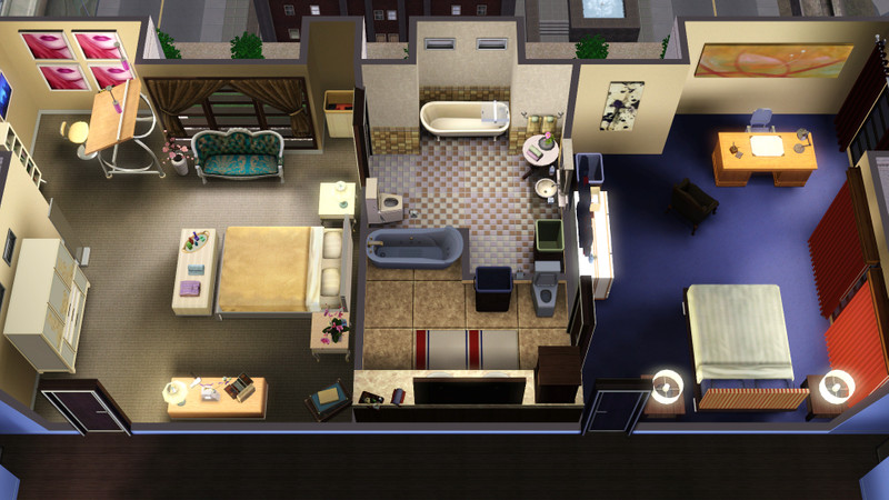 Starla tfc 39 s gossip girl the serena for Gossip girl apartment floor plans