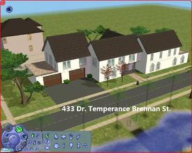 Sims 2 — 433 Dr. Temperance Brennan St. by Anakin_Stupaine — Unfurnished Luxurious looking house with 2 pools.