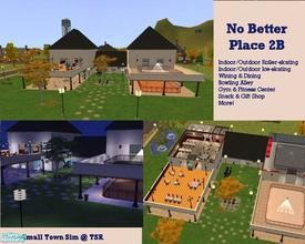 "Sims 2 — No Better Place 2B by Small Town Sim — Enjoy a day of fun at ""No Better Place 2B"". The Sims that visit"