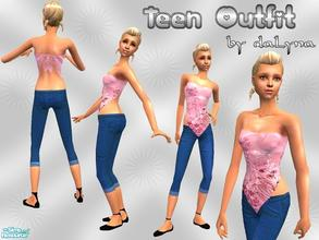 Sims 2 — Outfit 004 by daLyna — Teen Outfit ..:: Enjoy! ::..