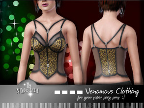 Sims 3 — [ Venomous Clothing ] Transparency Top by SIMcredible! — for your sexy sims to enjoy the night ^^ Enjoy :D by