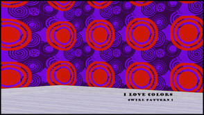 Sims 3 — I LOVE COLORS SWIRL PATTERN 1 by abuk0 — I LOVE COLORS SWIRL PATTERN 1