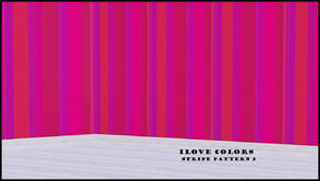 Sims 3 — I LOVE COLORS STRIPE PATTERN 2 by abuk0 — I LOVE COLORS STRIPE PATTERN 2