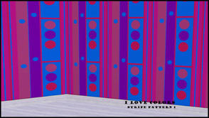 Sims 3 — I LOVE COLORS STRIPE PATTERN 1 by abuk0 — I LOVE COLORS STRIPE PATTERN 1
