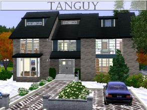 Sims 3 — Tanguy by lilliebou — Hi ! Here are some details about this house: First floor: -Entrance -Dining room -Kitchen