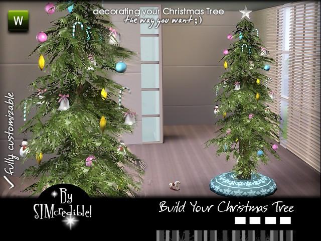 SIMcredible!'s Building your Christmas Tree Set