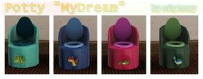 "Sims 3 — Potty ""My Dream"" by orig1amy — Funny dino for you and your todlers"