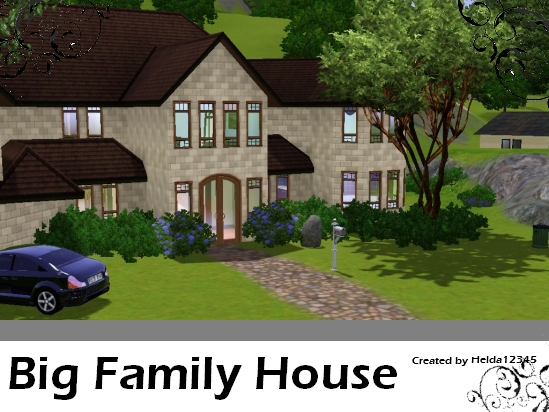 Helda12345 39 s big family house for Large family home