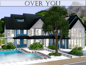 Sims 3 — Over You by lilliebou — Hi ! Here are some details about this house: First floor: -Kitchen + Dining room