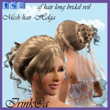 Sims 3 — af hair long bridal veil by Irishkakic — af hair long bridal veil by Irink@a Mesh hair taken from the Sims 2.