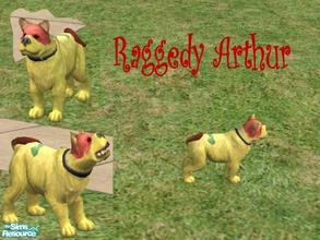 Sims 2 — Rag Dog by Small Town Sim — Meet Raggedy Arthur. Those who grew up with Raggedy Anne & Andy are familiar