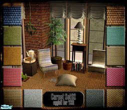 Sims 2 — Carpet Set02 by ayyuff — Cost:2