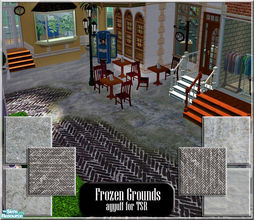 Sims 2 — Frozen Grounds by ayyuff — 6 snowy terrain paints