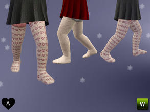 Sims 3 — agapi r - Knitted stockings by agapi_r —