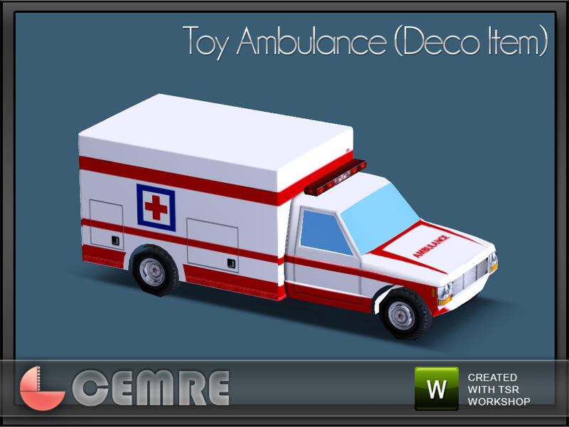 Christmas Gifts for Kids- Toy Ambulance