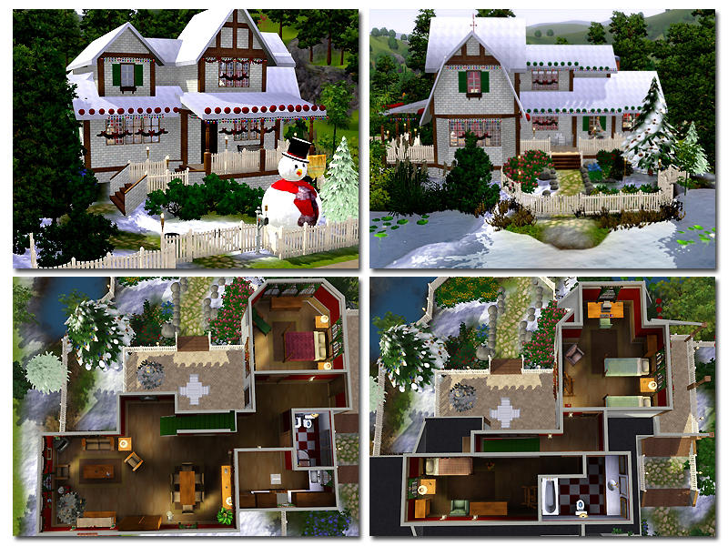 ayyuff 39 s xmas house furnished. Black Bedroom Furniture Sets. Home Design Ideas