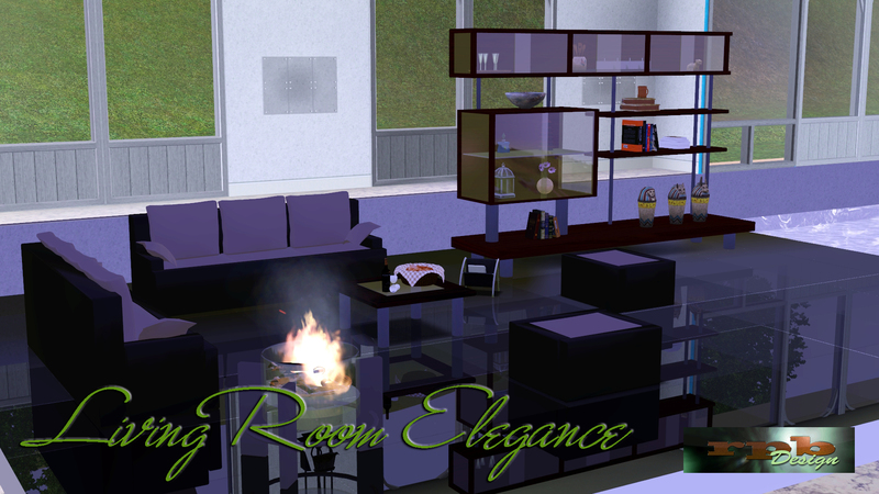 Sims 3 Downloads - 'mirror Floor' Sims 3 Wohnzimmer Modern