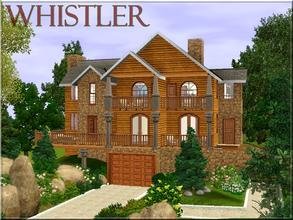 Sims 3 — Whistler by lilliebou — Hi ! Here are some details about this house: Basement: -Garage First floor: -Kitchen +