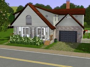 Sims 3 — Summer Getaway by charmedtink — Beautiful summer home that is split leveled with 2 bed and 1 1/2 bath, full