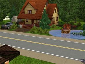 Sims 3 — Hidden Cabin by charmedtink — Beautiful 2 bed 1 1/2 bath cabin in the middle of the lush forest.