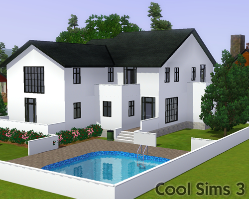 Cool Sims S Modern Deluxe House - Cool sims 3 houses