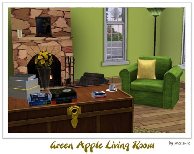 Mensure 39 S Green Apple Living Room