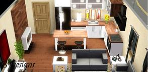 Sims 3 — B Designs The Simerset - 1br, 1ba by littleb920 — B Designs The Simerset - 1br, 1ba. The perfect one bedroom