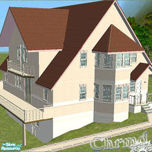 Sims 2 — Luxury Romantic Hideaway by Chrmd — A luxurious & spacious 2-4 bed/2 bath home. Space for a driveway if you