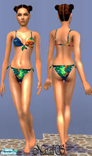 Sims 2 — NS teenswim collection-part 2-item4. by Natalis — Tropical colors bikini for teen girls.