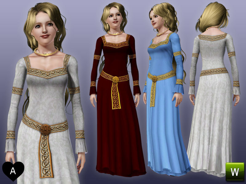 Medieval princess dress pictures